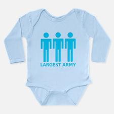 Funny Carcassonne Long Sleeve Infant Bodysuit