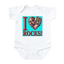 I Love Rocks! Infant Bodysuit