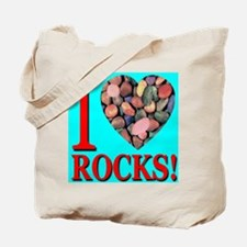 I Love Rocks! Tote Bag