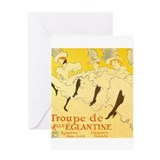Toulouse lautrec Greeting Cards