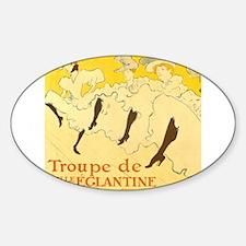 La Troupe de mlle eglantine by Toulouse-Lautrec St