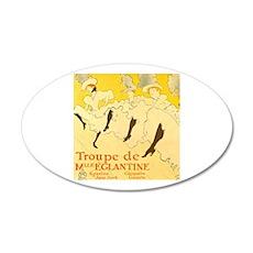 La Troupe de mlle eglantine by Toulouse-Lautrec Wa