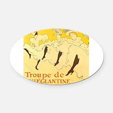 La Troupe de mlle eglantine by Toulouse-Lautrec Ov
