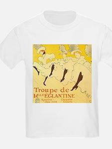 La Troupe de mlle eglantine by Toulouse-Lautrec T-