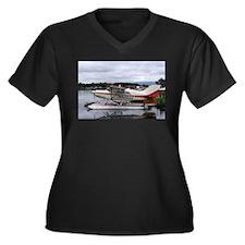 Float plane, Lake Hood, Anchorag Plus Size T-Shirt