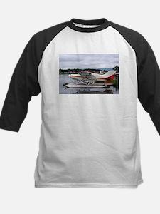 Float plane, Lake Hood, Anchorage, Baseball Jersey