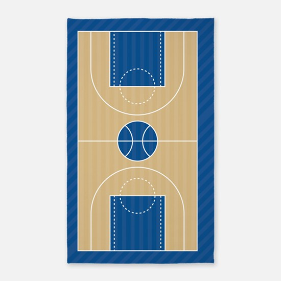 Basketball Court Area Rug