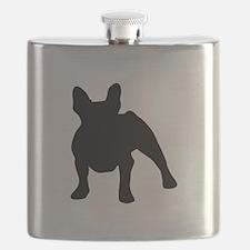 French Bulldog Shadow Flask
