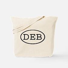 DEB Oval Tote Bag