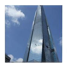 The Shard London skyscraper Tile Coaster