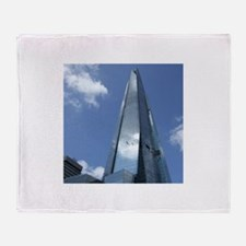 The Shard London skyscraper Throw Blanket
