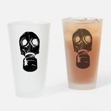 Gas Mask Drinking Glass