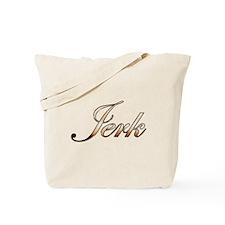 Gold Jerk Tote Bag