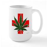 Marijuana Large Mugs (15 oz)