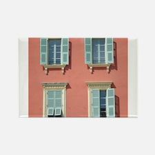 Shuttered windows in France Magnets