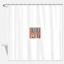Shuttered windows in France Shower Curtain