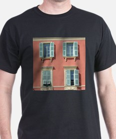 Shuttered windows in France T-Shirt