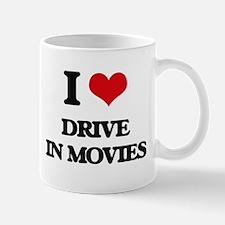 I Love Drive In Movies Mugs