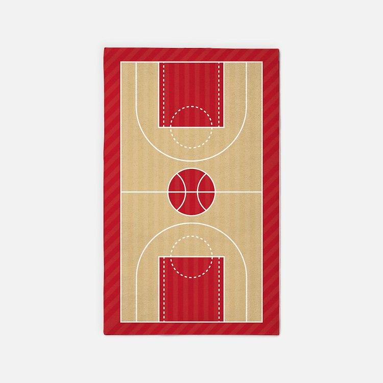 Basketball Court Area Rug