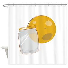 Moonshine Jar Shower Curtain