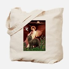 Angel & Newfoundland (B2S) Tote Bag
