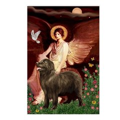 Angel & Newfoundland (B2S) Postcards (Package of 8