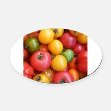 Colorful tomatoes macro food photography Oval Car