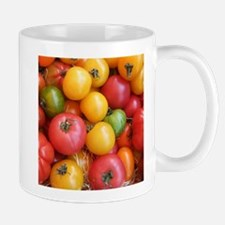 Colorful tomatoes macro food photography Mugs