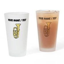 Custom Tuba Drinking Glass
