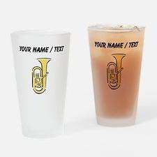 Custom Tuba Drinking Glass