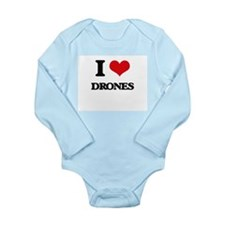 I Love Drones Body Suit