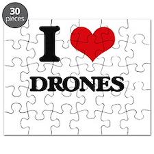 I Love Drones Puzzle