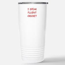 i love cricket Travel Mug