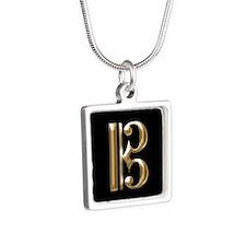 Gold Alto Clef - C-Clef Necklaces