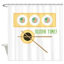 Sushi Time! Shower Curtain