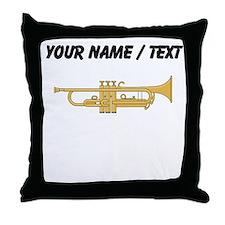 Custom Trumpet Throw Pillow
