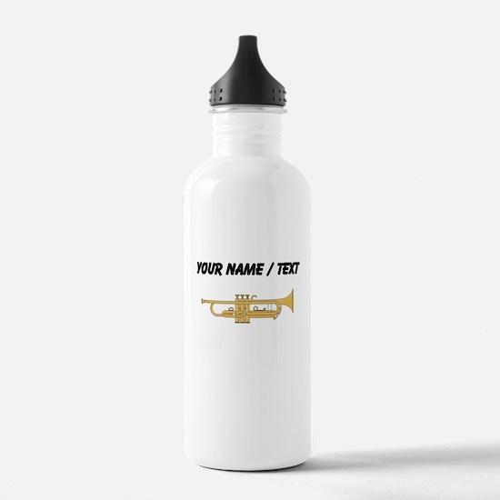 Custom Trumpet Water Bottle