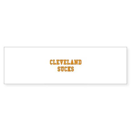 Cleveland Sucks Bumper Sticker