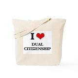 Citizenship Totes & Shopping Bags