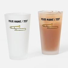 Custom Trombone Drinking Glass