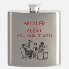 Cute Cribbage Flask