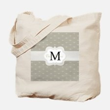 Elegant Monogram Design Tote Bag