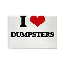 I Love Dumpsters Magnets