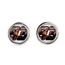 marc93photo Round Cufflinks