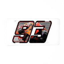 marc93photo Aluminum License Plate