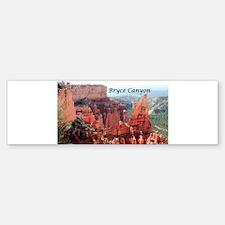 Bryce Canyon, Utah, USA 5 (caption) Bumper Bumper Bumper Sticker