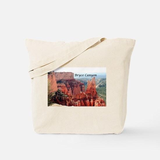 Bryce Canyon, Utah, USA 5 (caption) Tote Bag