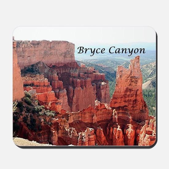 Bryce Canyon, Utah, USA 5 (caption) Mousepad