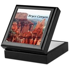 Bryce Canyon, Utah, USA 5 (caption) Keepsake Box