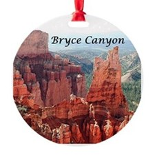 Bryce Canyon, Utah, USA 5 (caption) Ornament